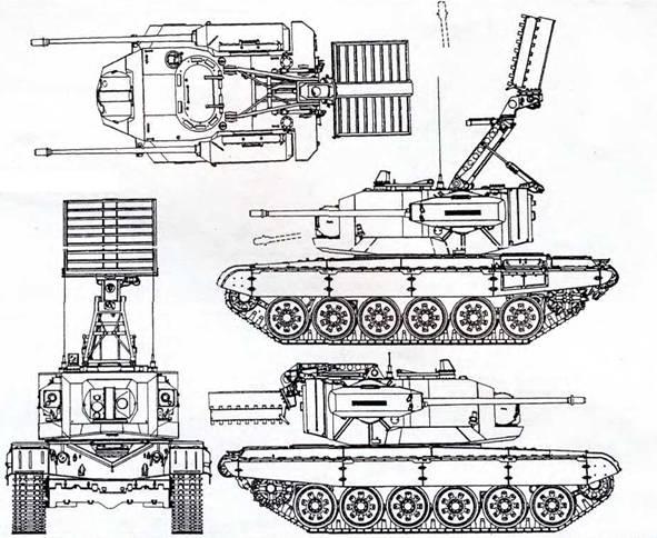 ЗСУ на шасси Т-72(ЮАР)