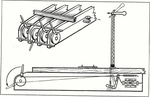 Схема и монтаж остановочных павильонов из металлического профиля.