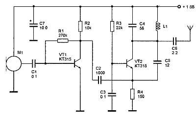 Принципиальные электрические схемы подслушивающих устройств принципиальная электрическая схема глушения...