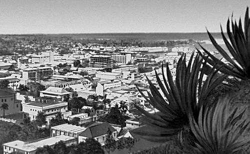 Общий вид города Порт-Луи.
