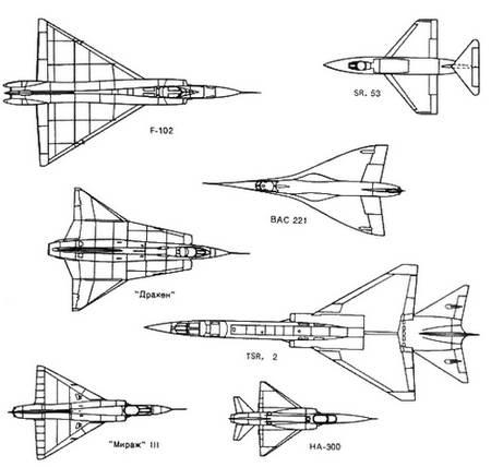 выбор схем таких самолетов