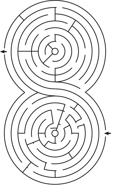 Рис. 43. Лабиринт – уголки
