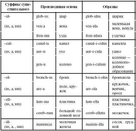 Латинский язык для медиков: