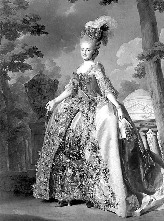Марии Федоровны. 1777 г.