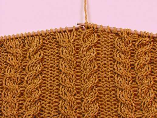Узоры для вязания косы (косички) спицами. узоры спицами,араны,вязание...