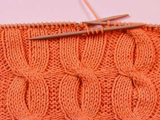 схемы и узоры вязания спицами косы регланом.