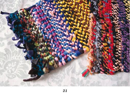 вязания крючком шитье из лоскутков.