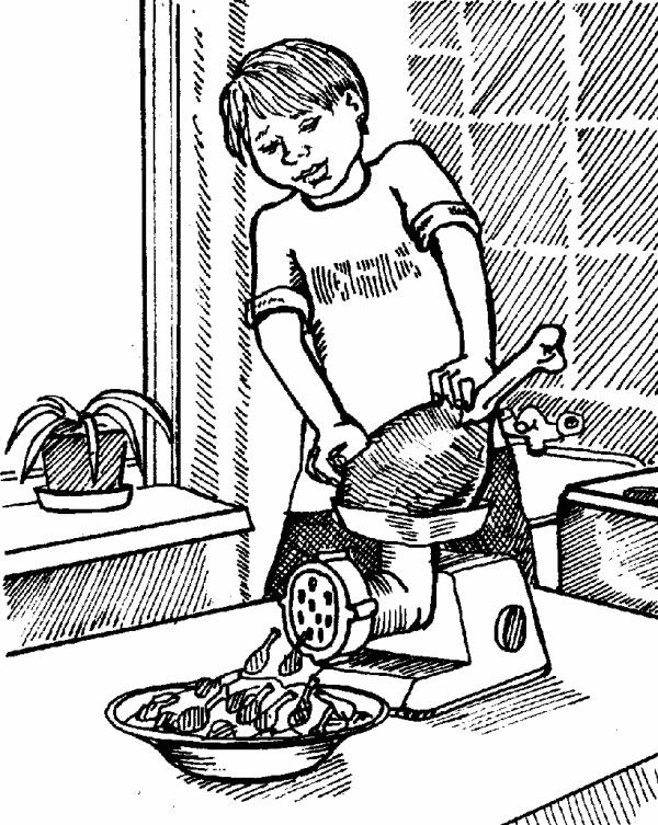 Сынок накозал маму за не сготовленный обед с фото фото 457-79