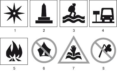 Знаки запрещающие неправильное поведение на природе картинки